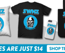 SWNZ Merch on Sale at TeePublic