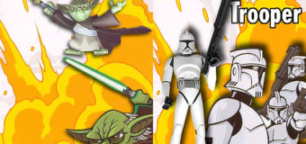 Competition 7 – Clone Wars Yoda and Clone Trooper