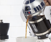 R2-D2 Coffee Press at EB Games