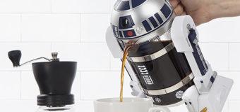 R2-D2 Coffee Press at EB Games