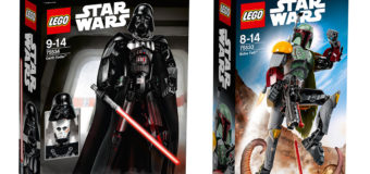 New Lego Star Wars Buildable Figures