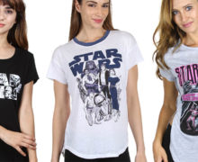 Women's Star Wars Tops at BuyInvite