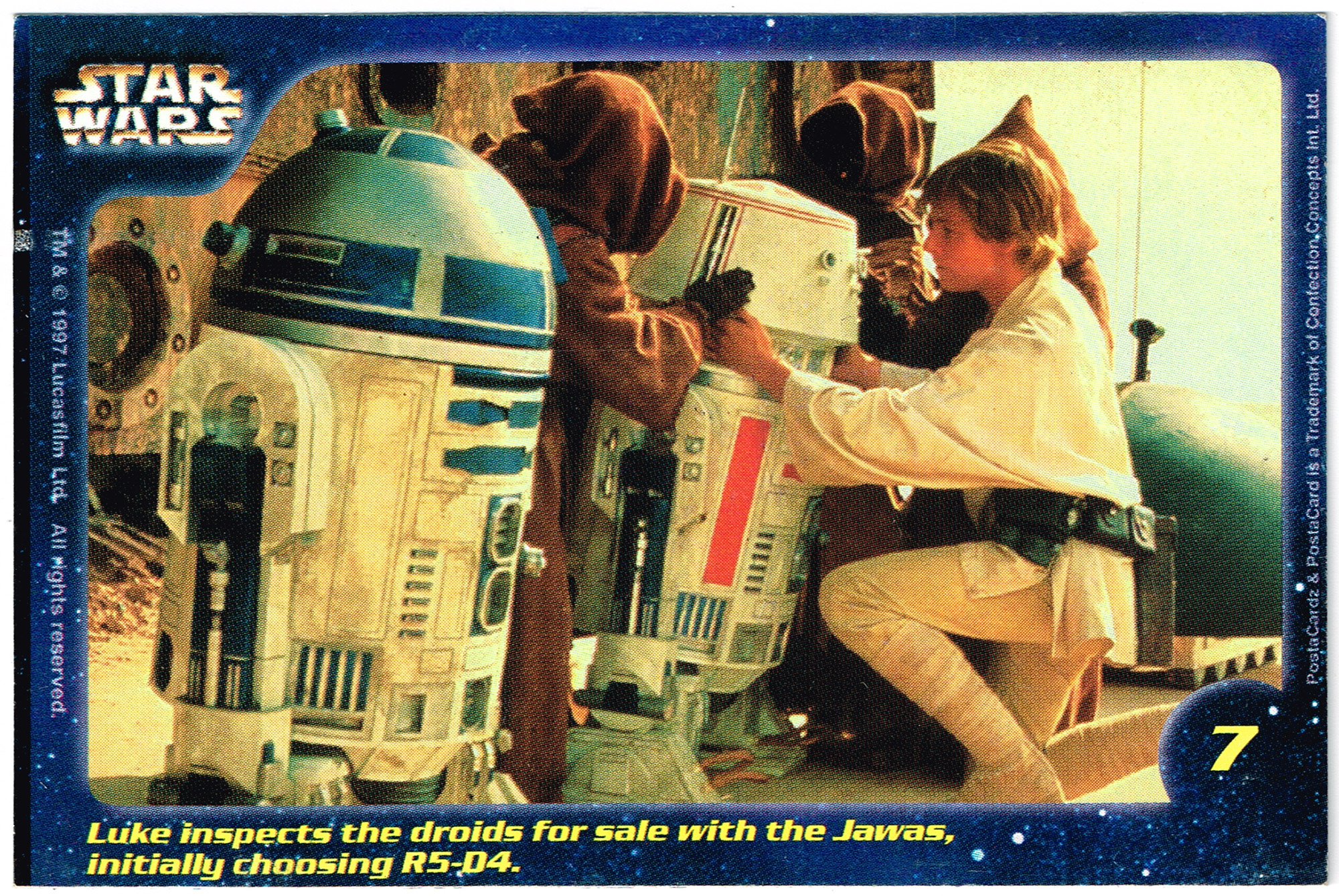 Confection Concepts Star Wars Card 07