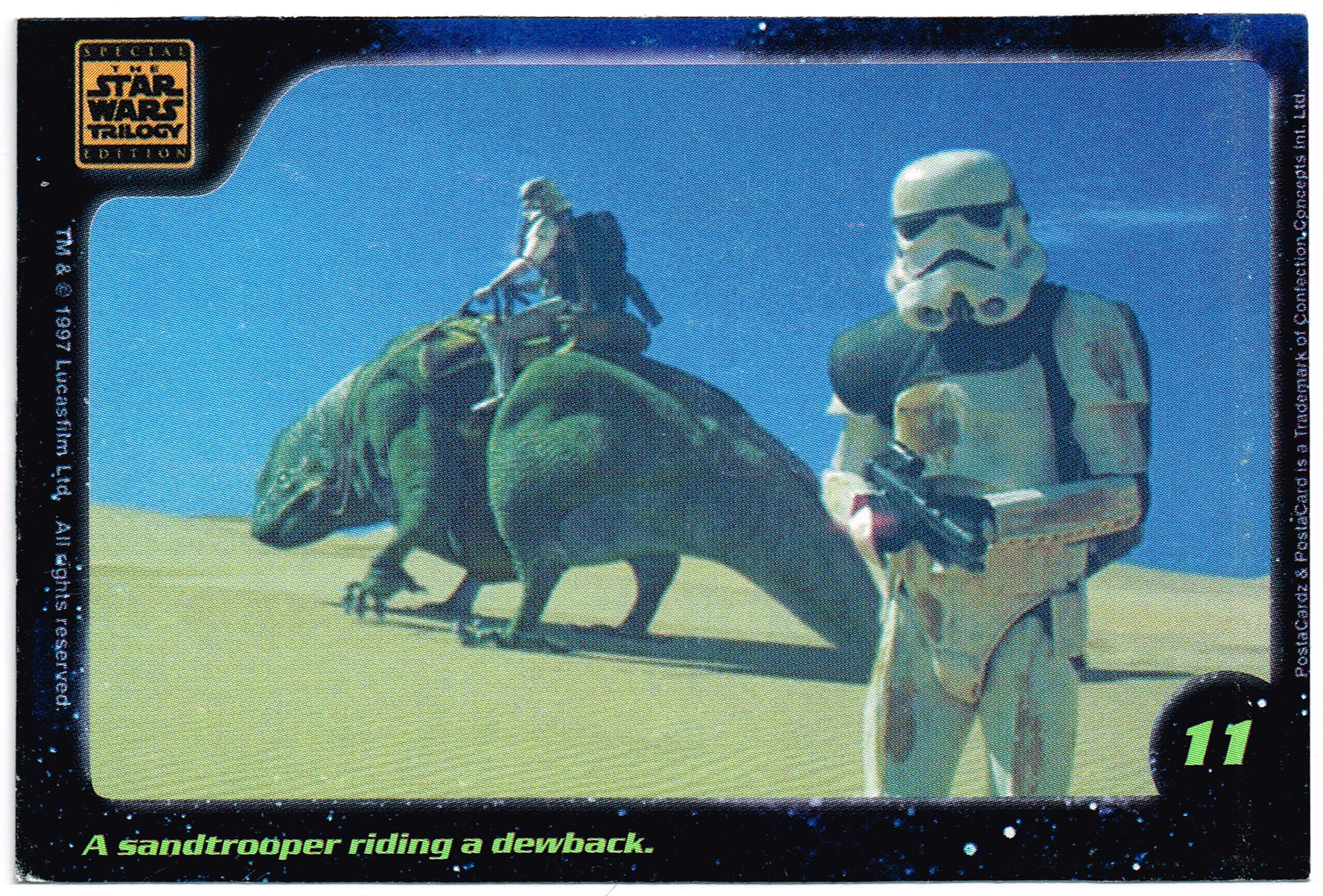 Confection Concepts Star Wars Card 11