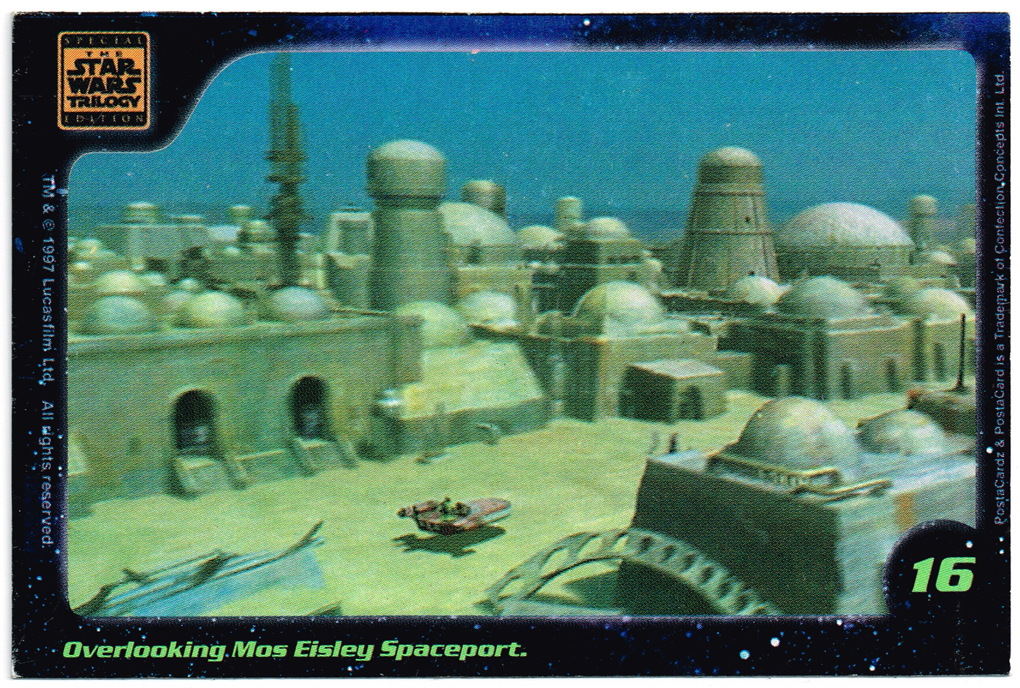 Confection Concepts Star Wars Card 16