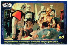 Confection Concepts Star Wars Card 20