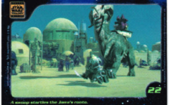 Confection Concepts Star Wars Card 22
