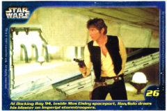 Confection Concepts Star Wars Card 26