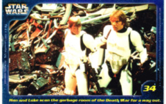 Confection Concepts Star Wars Card 34