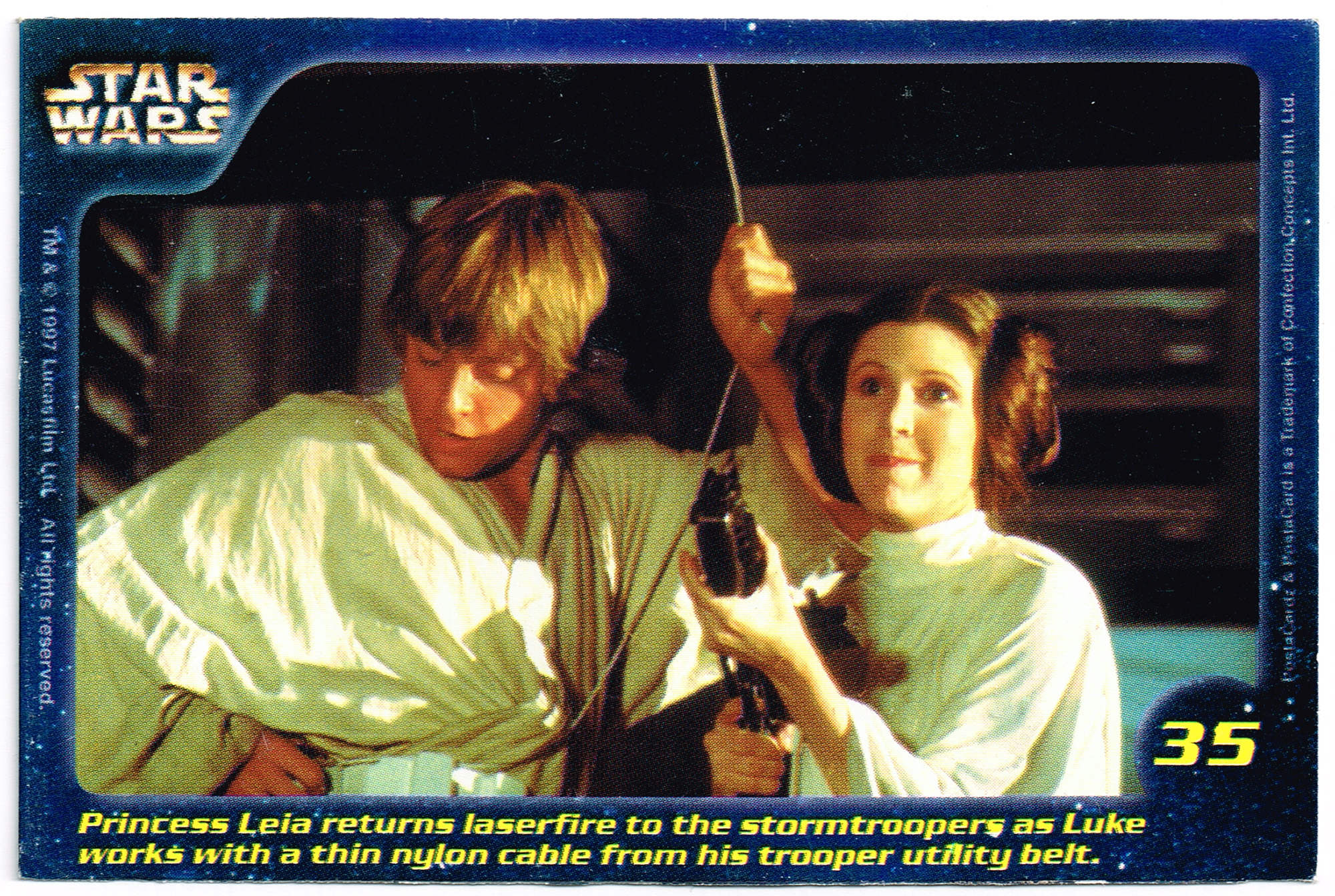 Confection Concepts Star Wars Card 35