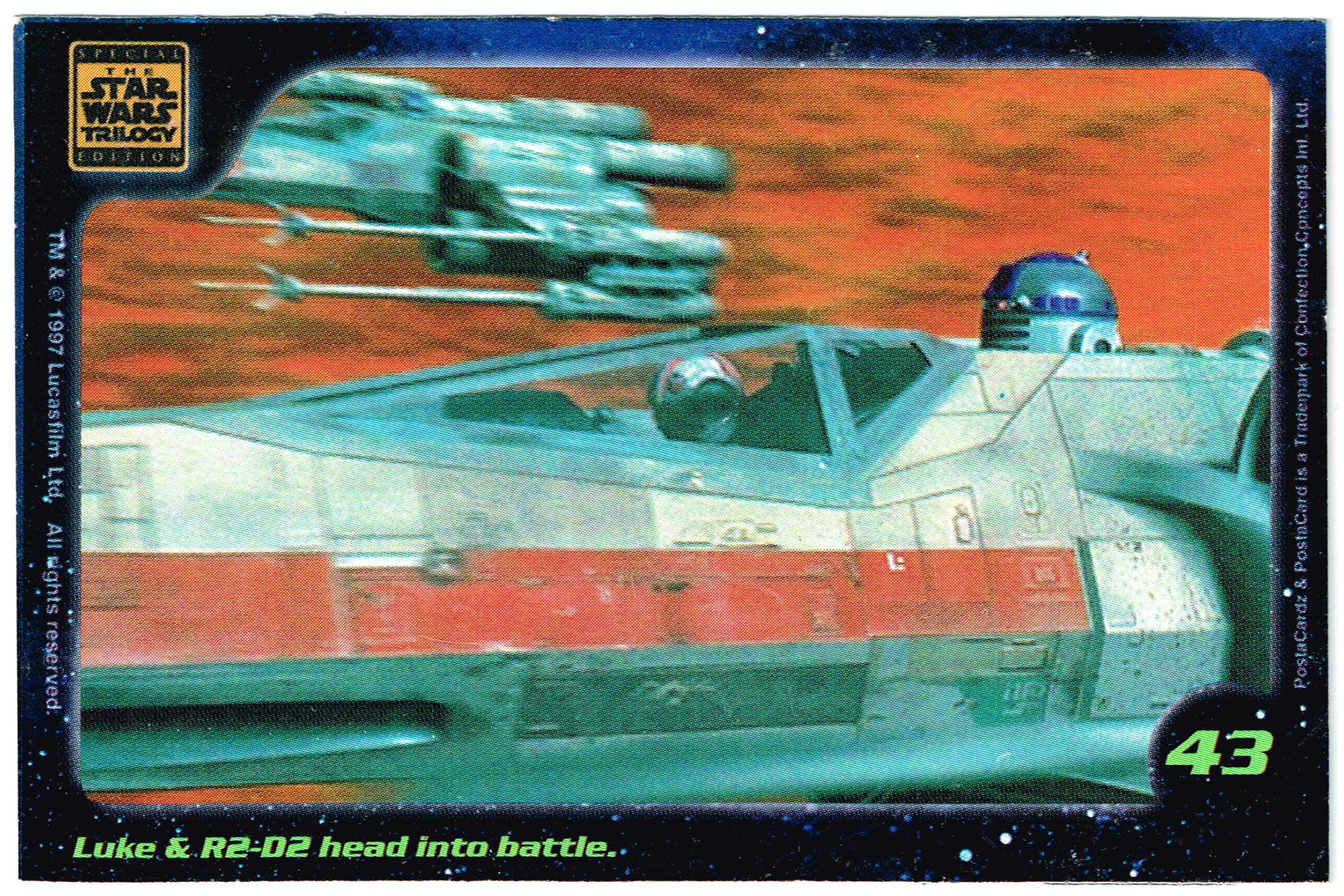 Confection Concepts Star Wars Card 43
