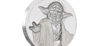 Yoda Ultra High Relief Coin at NZ Mint