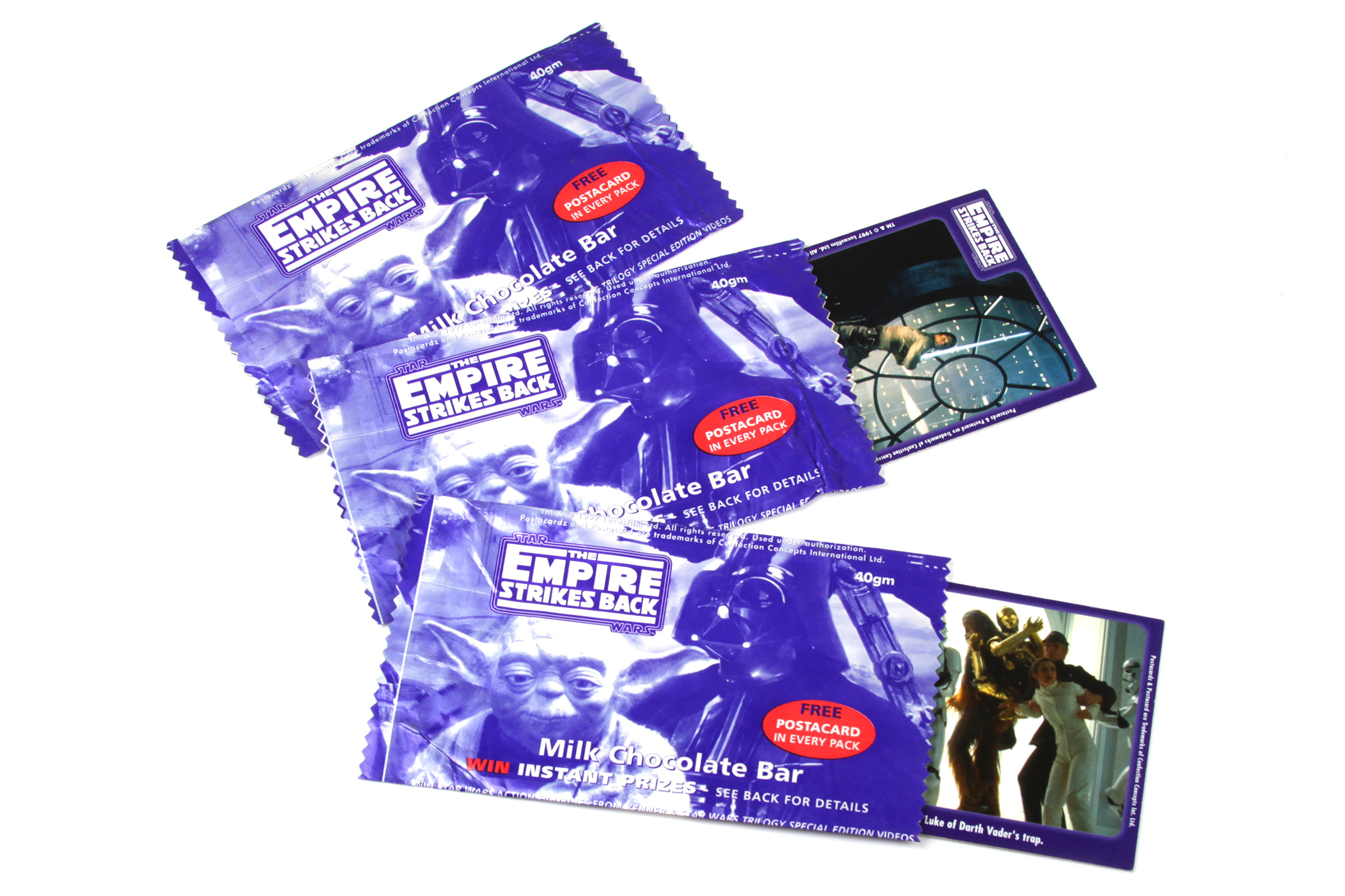 Confection Concepts Postacard Wrappers