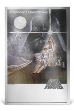 NZ Mint Star Wars Silver Foil