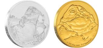 New Jabba the Hutt Coins from NZ Mint