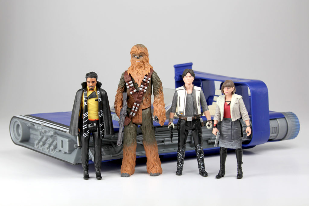 Solo: A Star Wars Story figures
