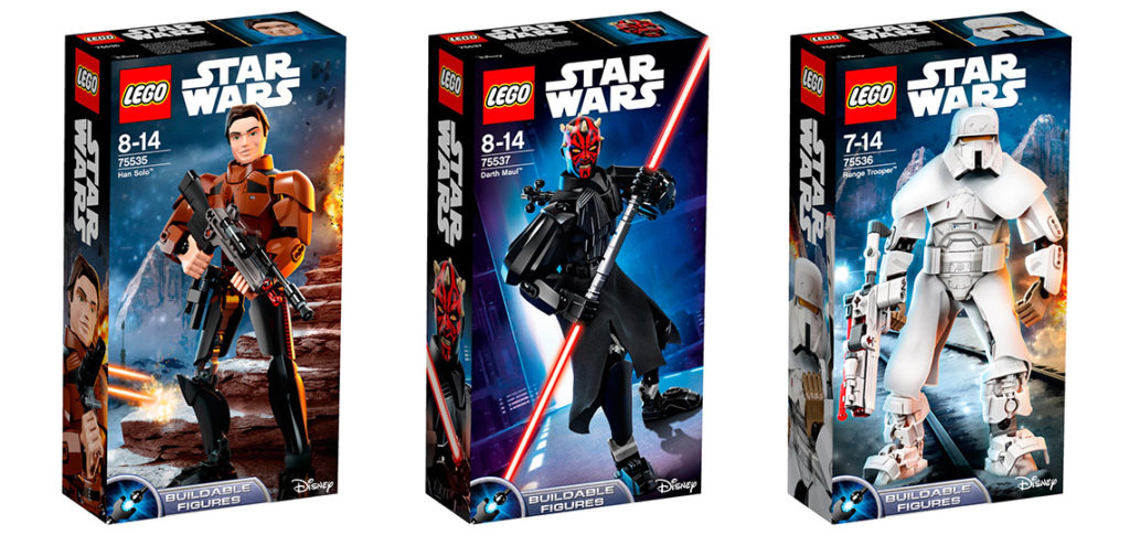 Star Wars Lego Buildable Figures
