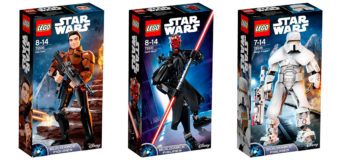 Latest Star Wars Lego Buildable Figures