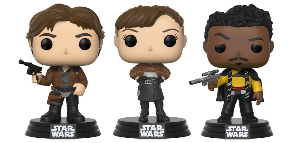 Solo Pop Vinyl Figures