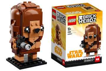 'Solo' Lego Brick Headz