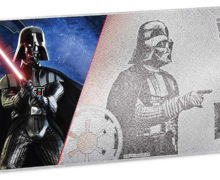 Darth Vader Silver Note from NZ Mint