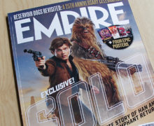 Empire Magazine, 'Solo' Issue in NZ