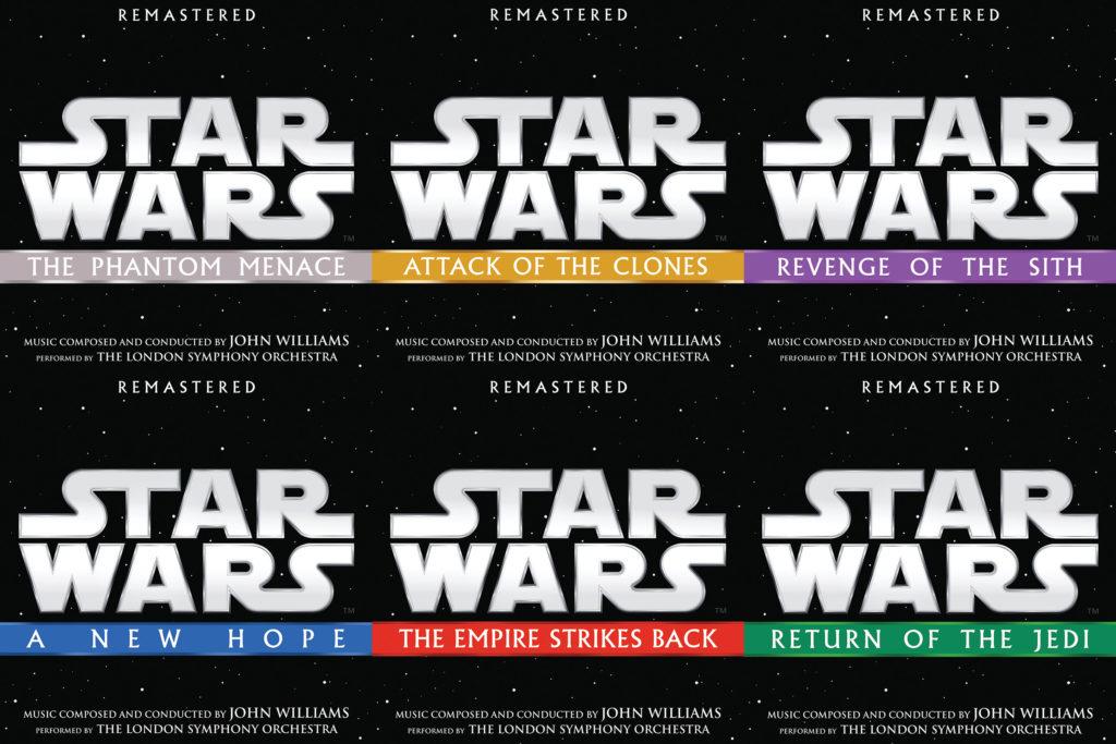 Remastered Star Wars Movie Soundtracks