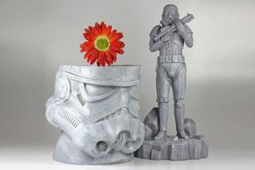 Star Wars Garden Pots