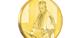 New Darth Maul Coins from NZ Mint