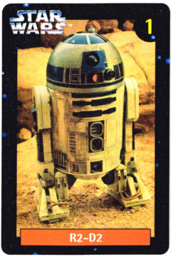 Quality Bakers R2-D2 card