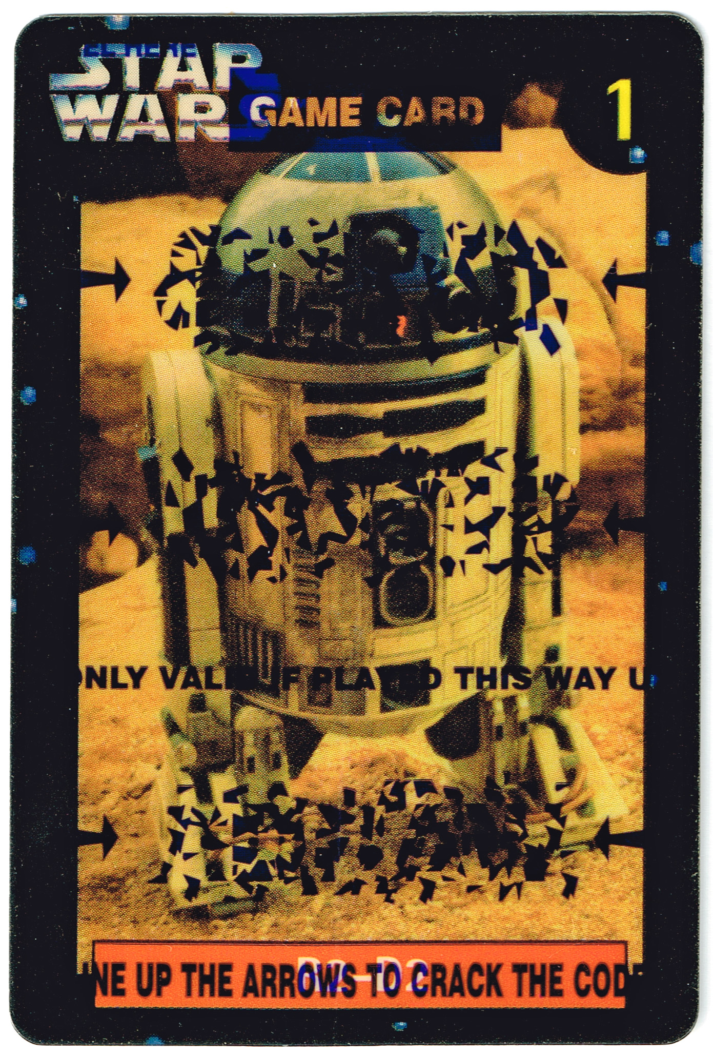 Quality Bakers Card 1 - R2-D2