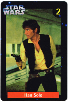 Quality Bakers Han Solo card