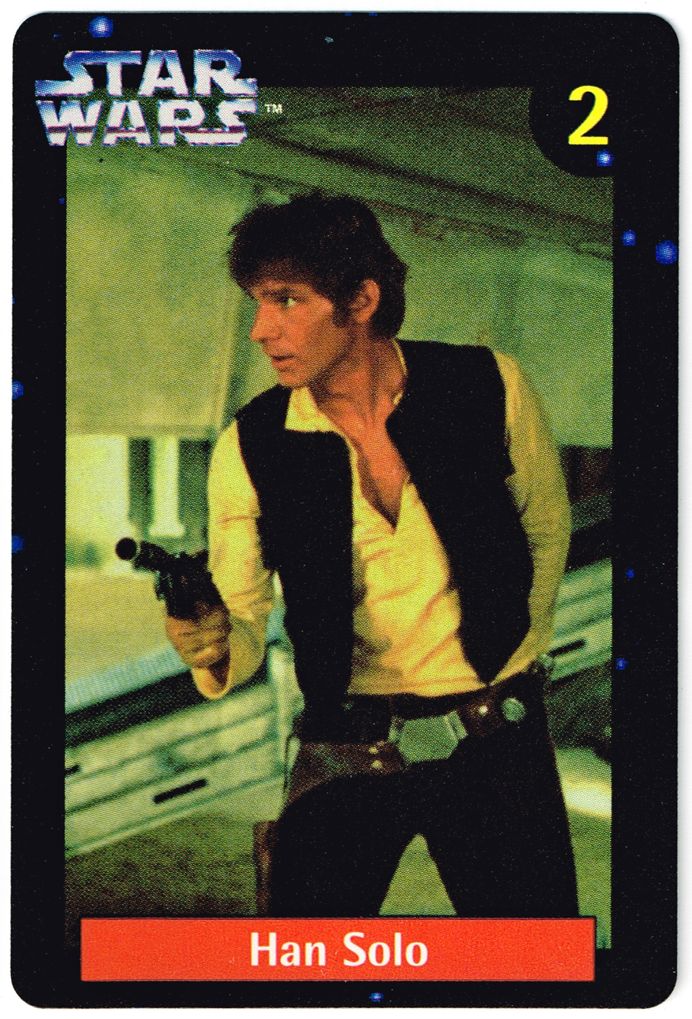 Quality Bakers Card 2 - Han Solo