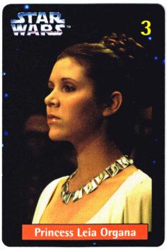 Quality Bakers Princess Leia card