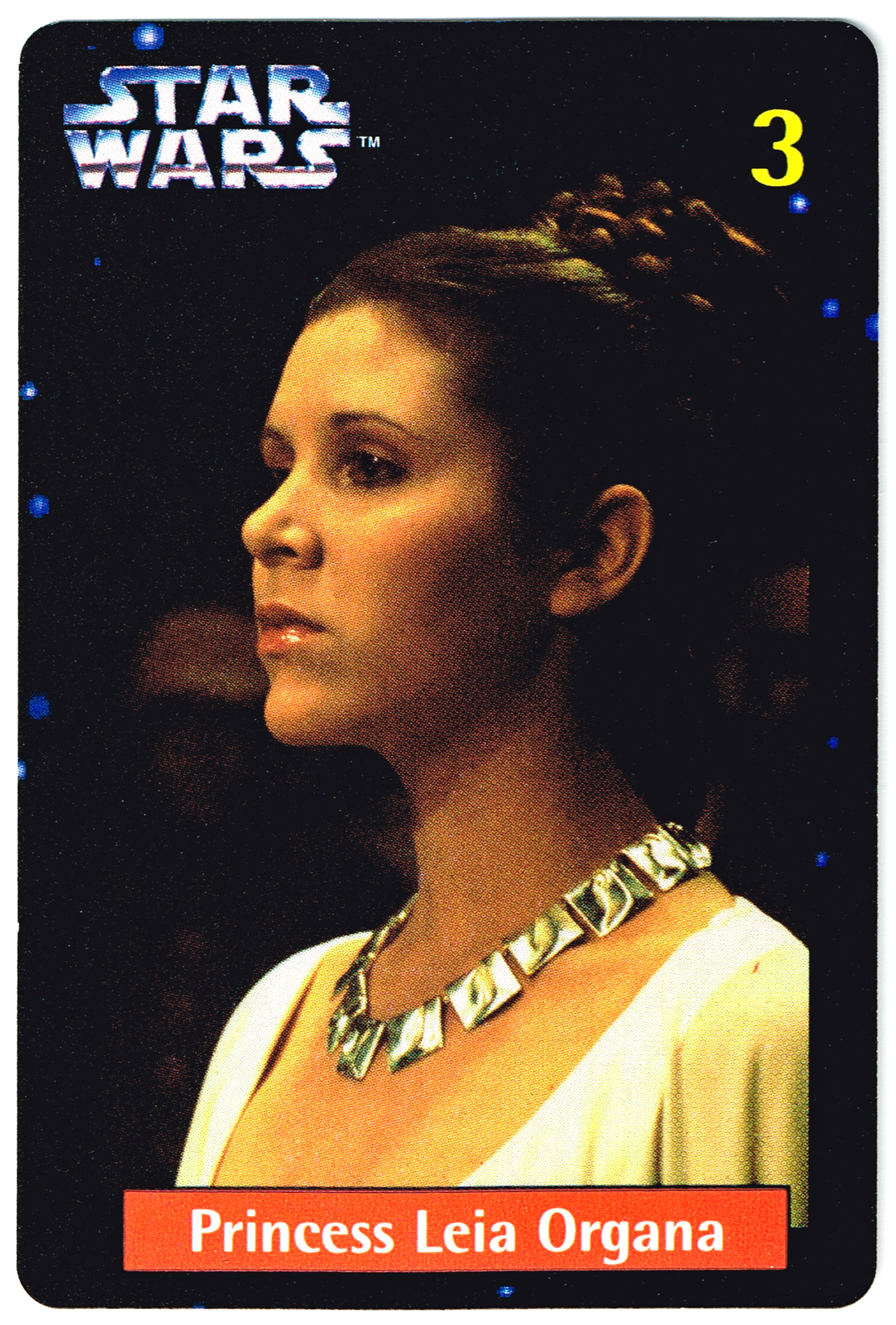 Quality Bakers Card 3 - Princess Leia Organa