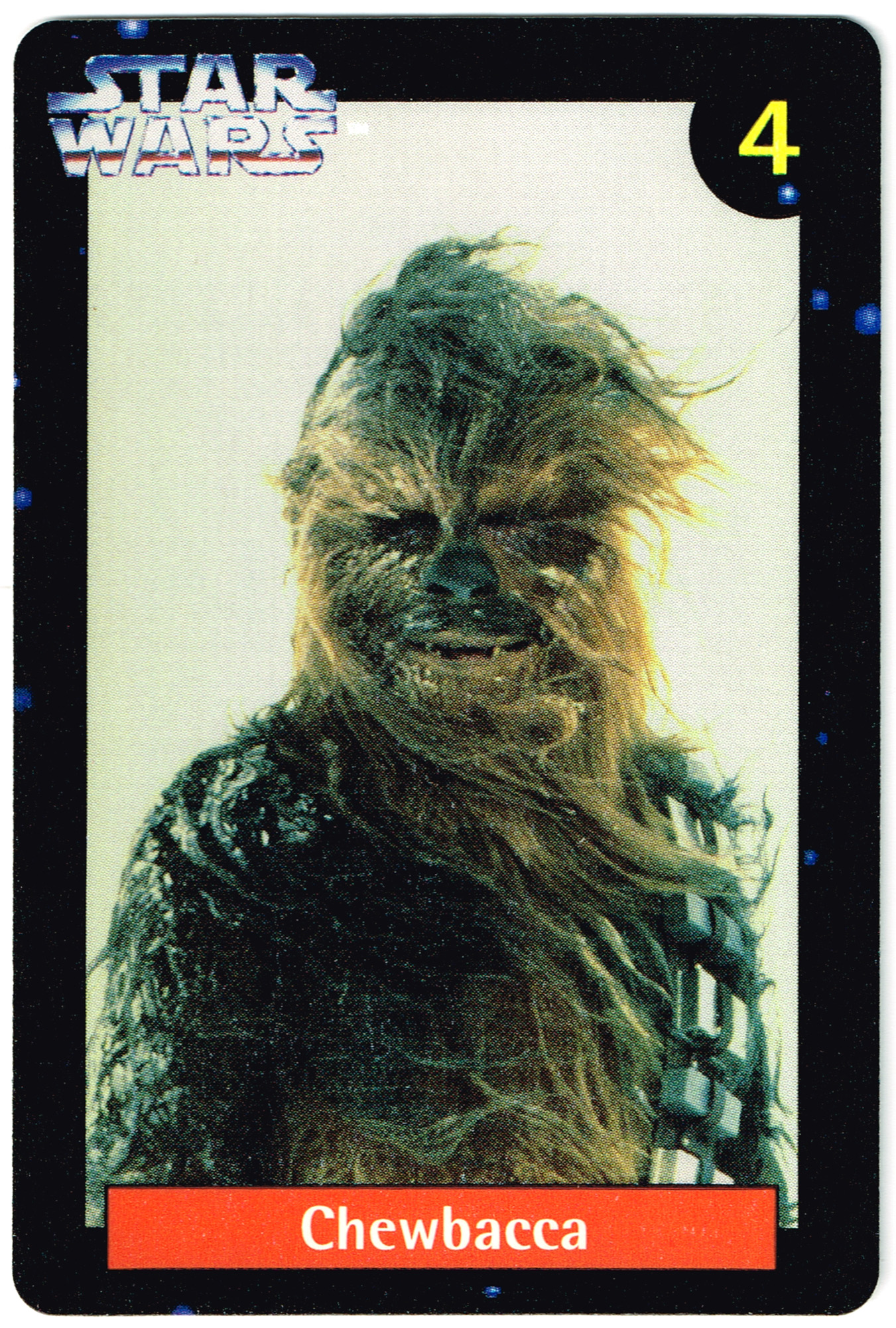 Quality Bakers Card 4 - Chewbacca