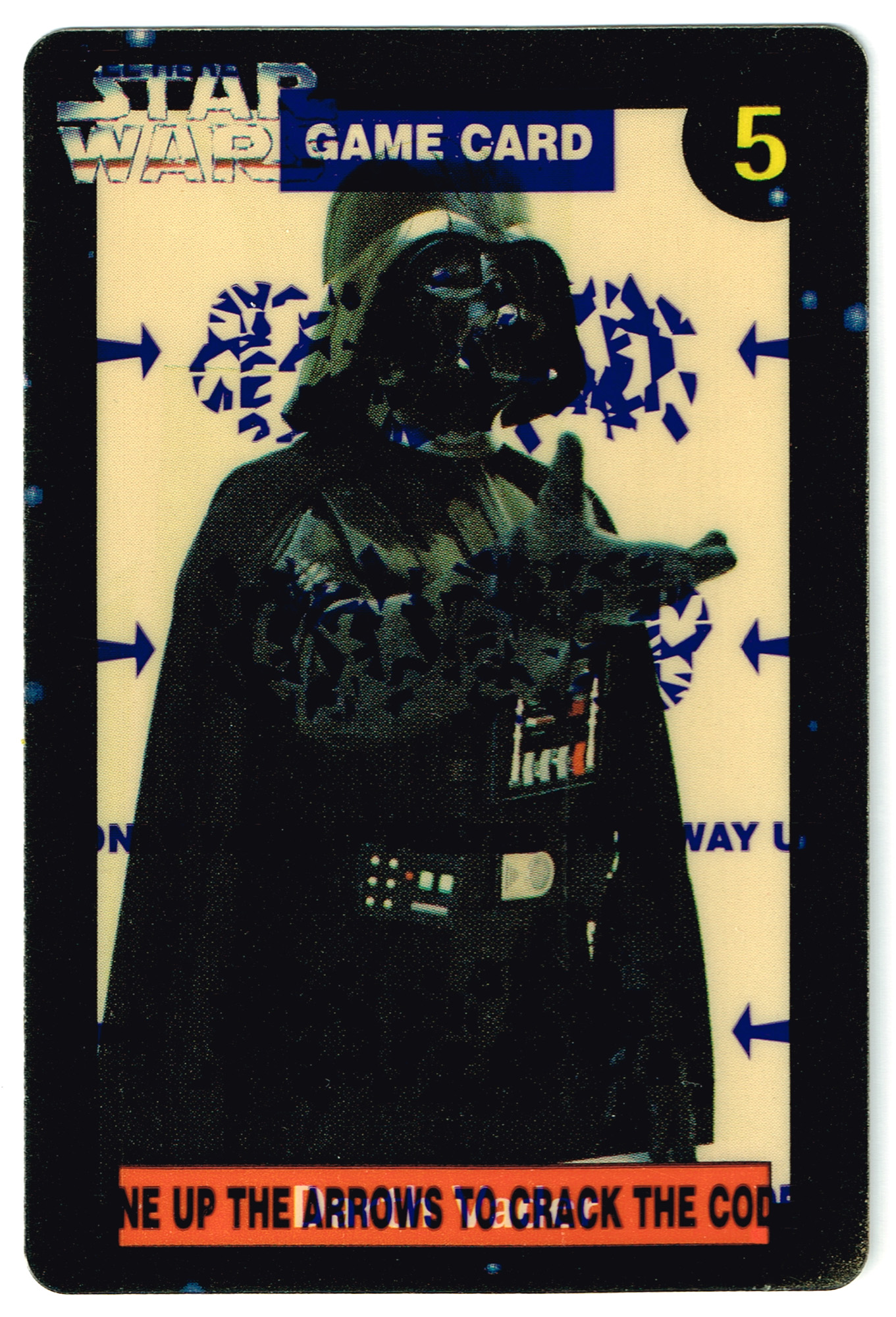 Quality Bakers Card 5 - Darth Vader