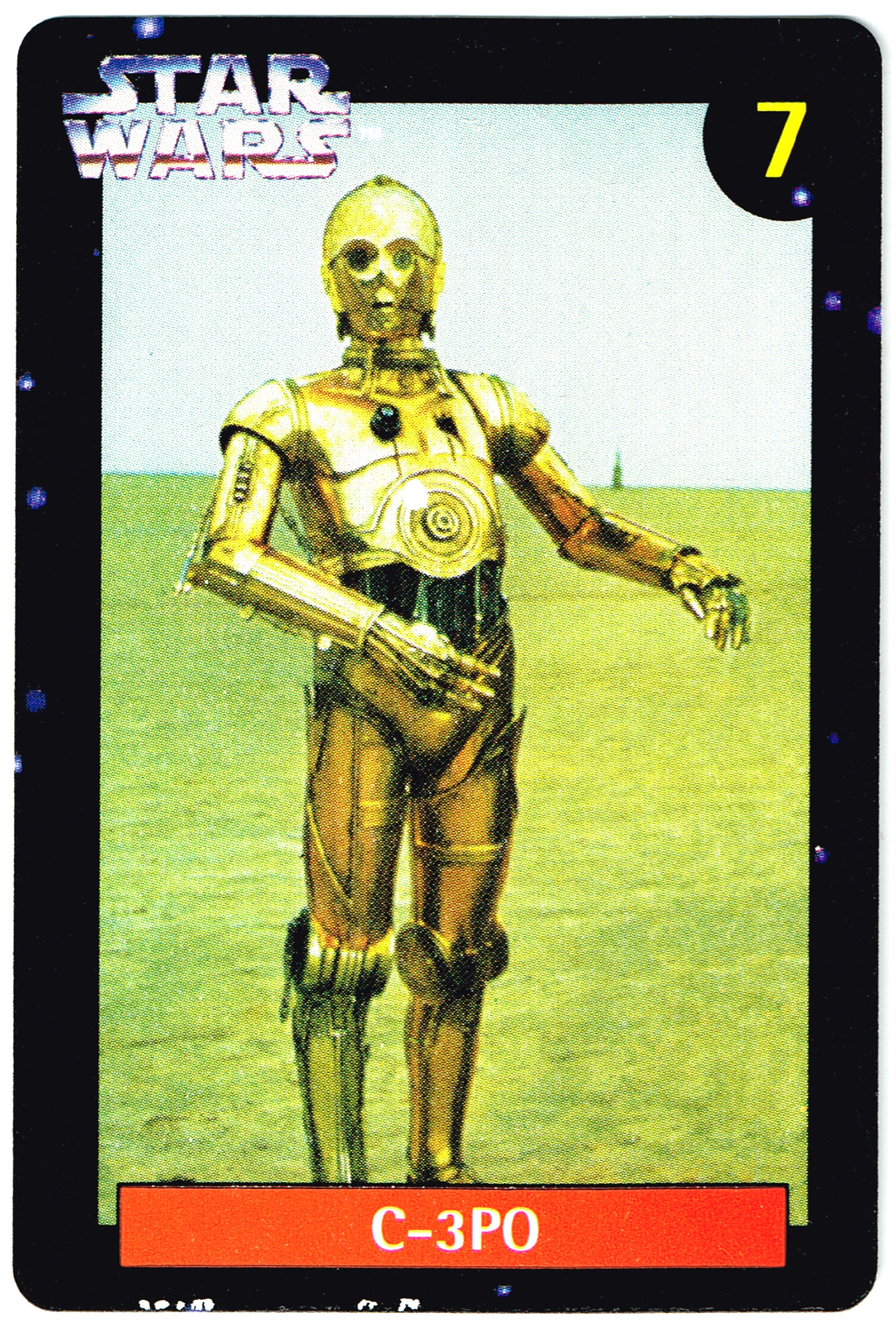 Quality Bakers Card 7 - C-3PO