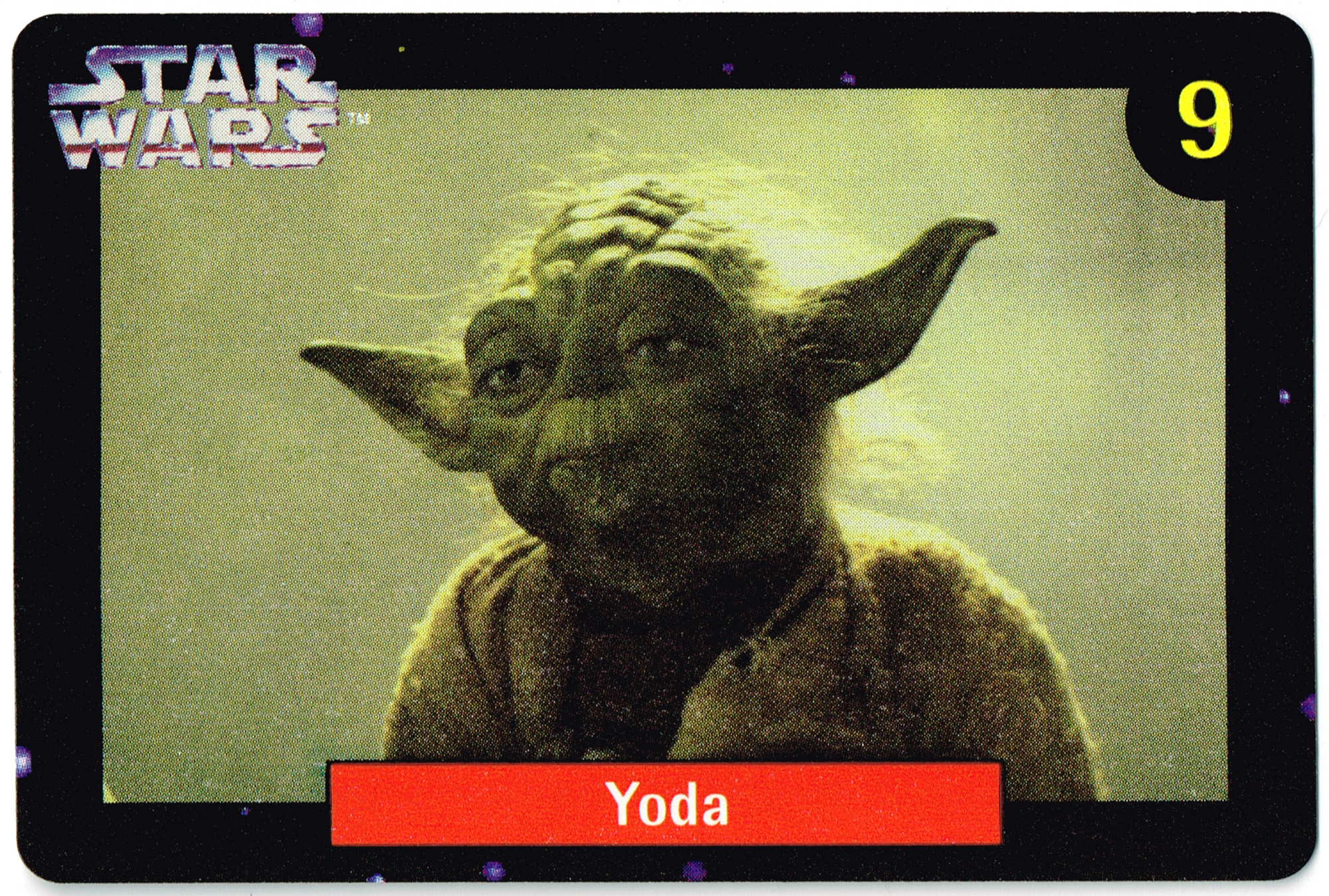 Quality Bakers Card 9 - Yoda