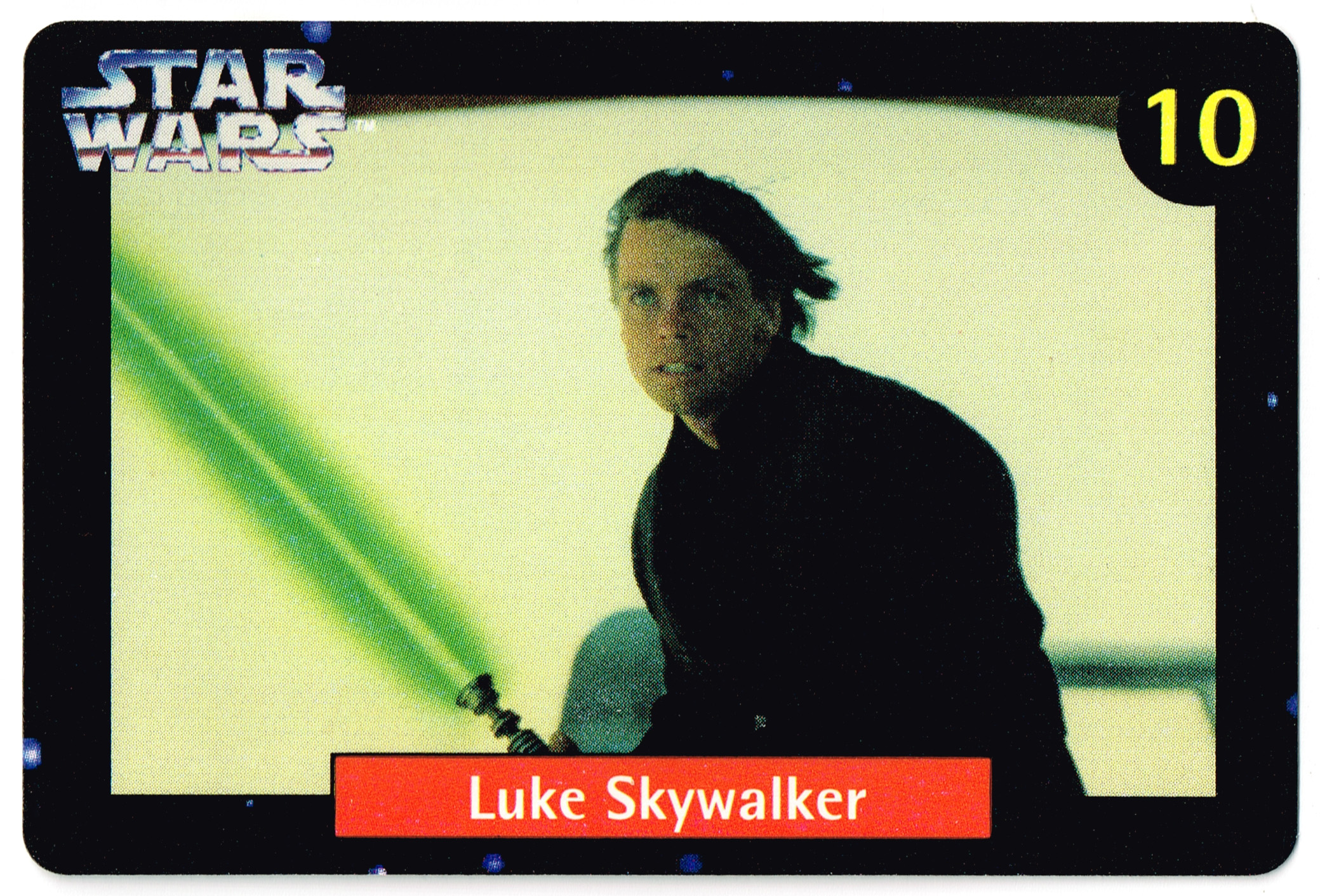 Quality Bakers Card 10 - Luke Skywalker