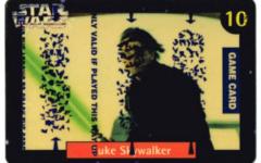 Quality Bakers Card 10 - Luke Skywalker