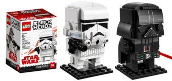 New LEGO Brick Headz at Mighty Ape