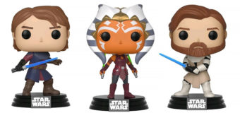 Preorder Clone Wars Pop! Vinyls at Mighty Ape