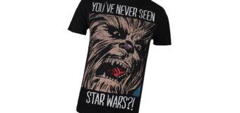 """""""You've Never Seen Star Wars?"""" T-Shirt"""