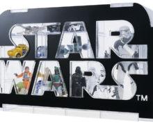 Star Wars Logo Display Case at Mighty Ape