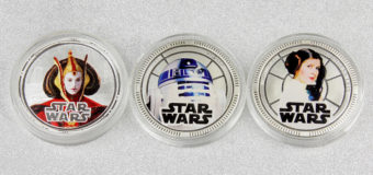 New Zealand Mint Star Wars Coins 2011-2012