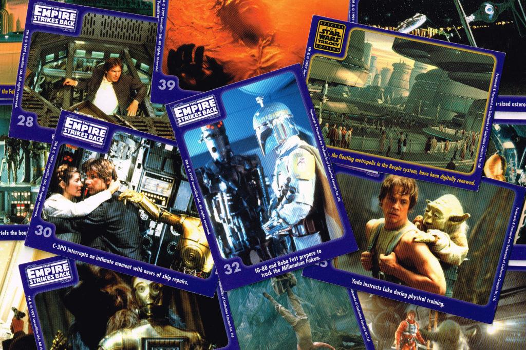 Confection Concepts Empire Strikes Back Postacards, 1997