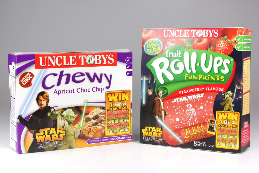 Uncle Tobys 'Revenge of the Sith' Promotion
