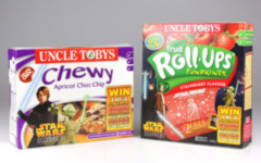 Uncle Tobys Chewy Muesli Bars & Fruit Roll-Ups