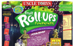 Uncle Tobys Star Wars Fruit Roll-Ups - Apple & Blackcurrant